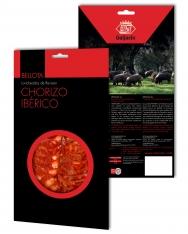 Kiełbasa Chorizo iberyjska de bellota Revisan Ibéricos w plastrach