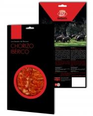 Kiełbasa Chorizo iberyjska de cebo de campo Revisan Ibéricos w plastrach