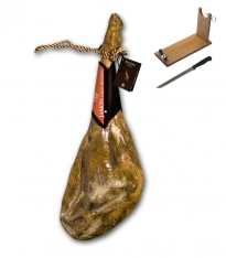 Szynka biała graso bodega gran reserva Revisan Ibericos w całości + stojak + nóż do krojenia