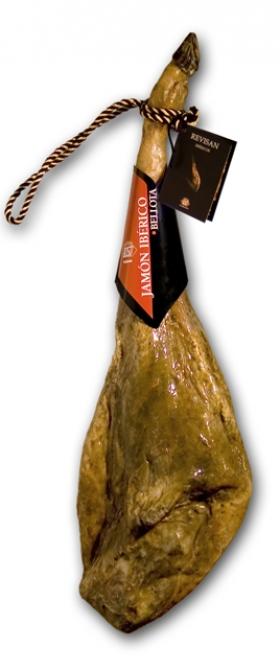 Szynka iberyjska de bellota z certyfikatem Revisan Ibéricos w całości