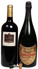 Magnum (1.5 L) Wino Musujące i Wino Czerwone Specjany Zestaw Premium na Święta