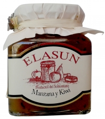 Marmolada naturalna z jabłka i kiwi Elasun