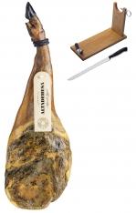 Paleta Ibérica de cebo Altadehesa + jamonero + cuchillo
