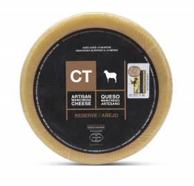 Queso Manchego Entero Reserva CT