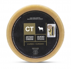 Queso Manchego Entero Curado CT