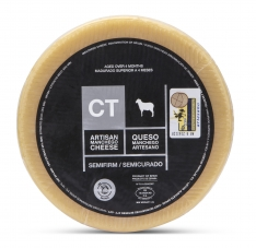 Queso Manchego Entero Semicurado CT