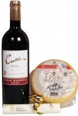 Ser i Wino Czerwone zestaw Świąteczny